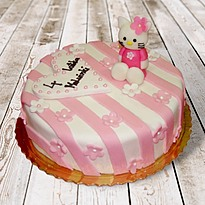 Tort Hello Kitty z masy